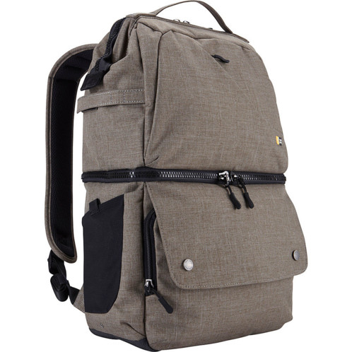 sac a dos pour appareil photo et accessoires photographie case logic FLXB 102 taupe