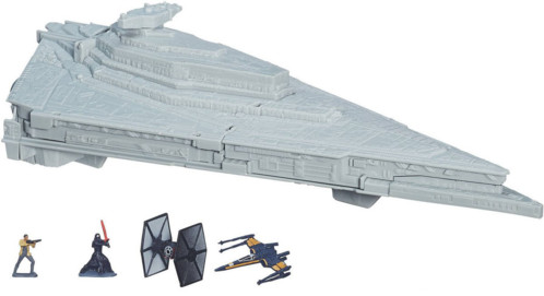 figurine et vaisseau star wars jouet