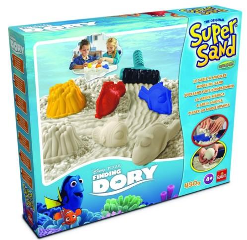 jeu creatif pour enfant sable kinetique super sand disney dory goliath