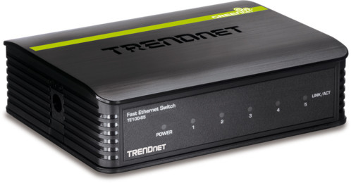 Switch 5 ports 10/100 Mbps GreenNet ''TE100-S5''