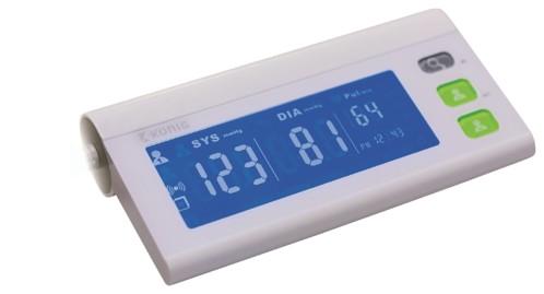 tensiometre digital de bras avec transmission bluetooth et application suivi tension gratuite pour iphone et android konig ls805-b