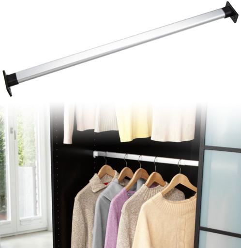 tringle suppl mentaire pour armoire largeur 58 100 cm. Black Bedroom Furniture Sets. Home Design Ideas