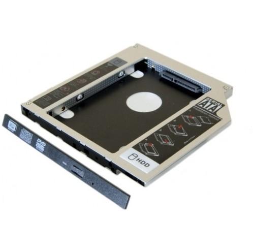 """Adaptateur pour disque dur SATA 2,5"""" pour emplacement ODD de Notebook"""