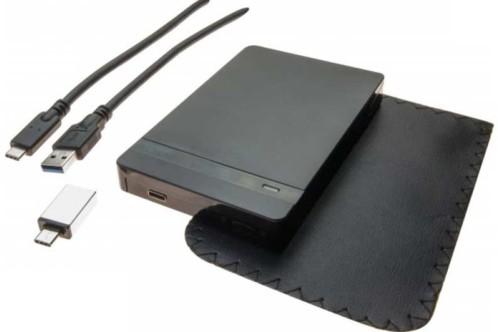 boitier disque dur sata avec prise usb 3.1 pochette boitier aluminium
