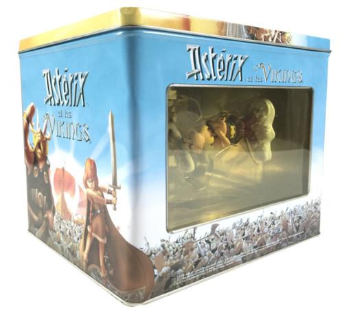 pack collector dvd astérix et les viking avec figurines astérix et obélix et livret code de goudurix