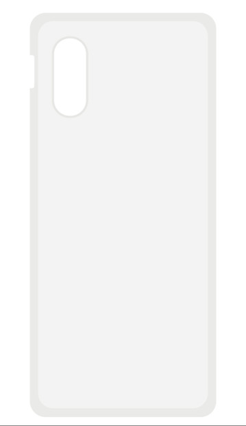 Coque de protection pour iPhone XS Max - Transparent