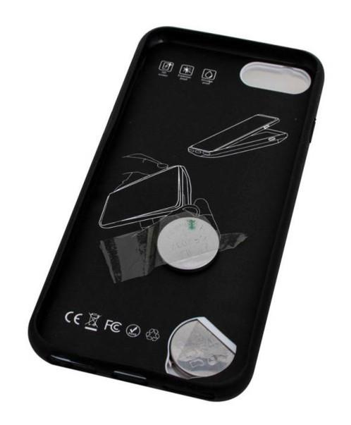 Coque pour iPhone 6 / 7 / 8 / SE 2020 avec mini console rétro