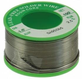 rouleau de 100 grammes etain 1mm pour soudure