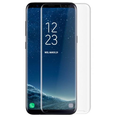 Façade de protection en verre trempé 9H pour Samsung Galaxy S8+