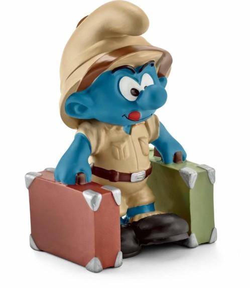 Figurine Les Schtroumpfs dans la jungle : le Schtroumpf explorateur