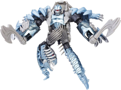 jouet transformers the last knight robot dinosaure dinobot slash velociraptor