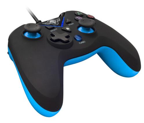 manette de jeu filaire USB compatible pc windows PS3 avec rapid fire spirit of gamer XGP