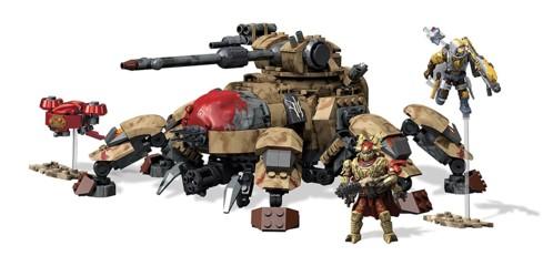 jouet de construction mega bloks série destiny véhicule armé ténébrion déchu djp13