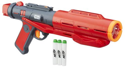 pistolet nerf star wars rogue one imperial death trooper avec flechettes phosphorescente glowstrike