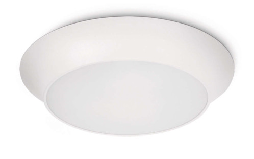 lampe ronde avec ampoule faible consommation interne 2gx13 philips ecomoods ceiling light plafonnier rond blanc