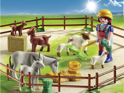 Playmobil collection Country : L'éleveur et ses bêtes (6133)