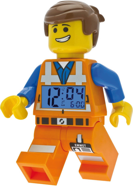 Réveil pour enfant Lego The Movie - Emmet 24 cm