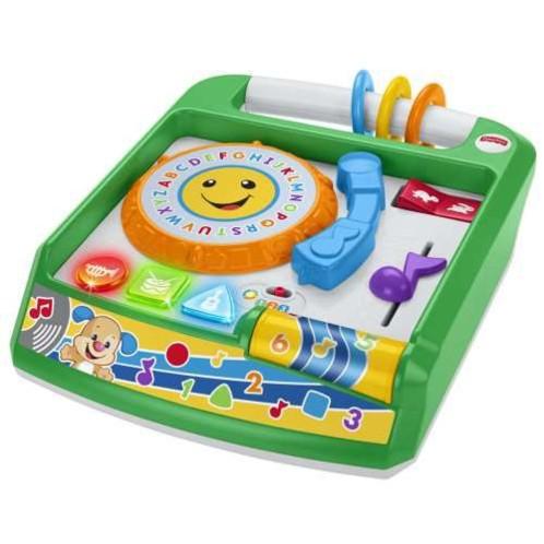 jouet enfance decouverte des sons et musiques avec apprentissage anglais et chiffres ma 1ere table de mixage rires et eveil fisher price