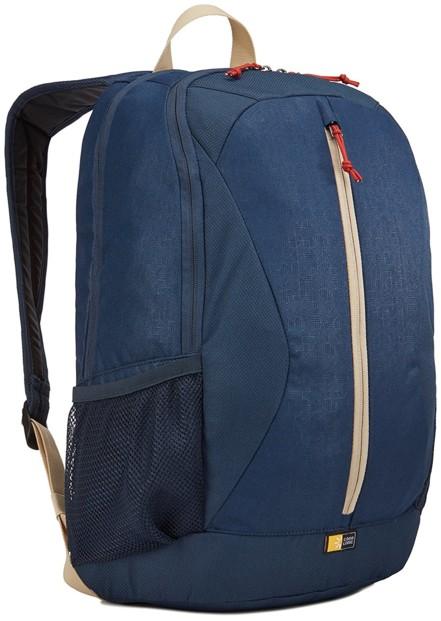 sac a dos avec poche protection ordinateur notebook 15 case logic ibir-115 bleu marine