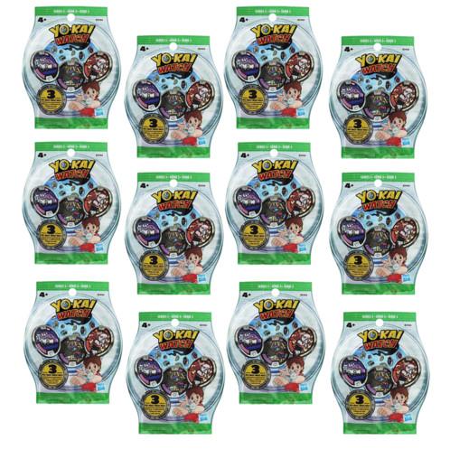 Sachets de 3 médailles Yo-Kai Watch (Série 3) - x12
