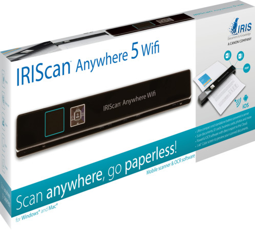 Scanner autonome Iriscan Anywhere 5 WiFi