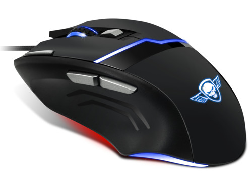 souris gaming spirit of gamer m10 4000 dpi profils personnalisables 7  boutons acceleration 20g ac750b2d8aed
