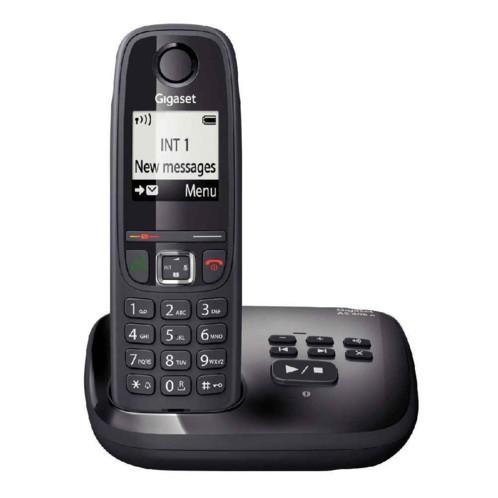 t l phone fixe sans fil gigaset as470 avec sans r pondeur 3 couleurs. Black Bedroom Furniture Sets. Home Design Ideas