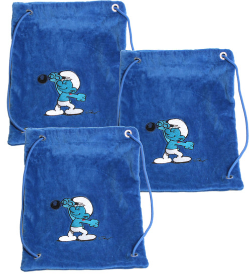 3 sacs à dos pour enfant Schtroumpf Costaud
