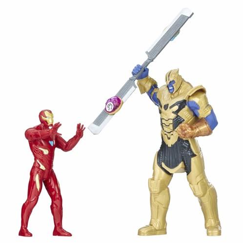 Avengers Infinity War : coffret combat Thanos vs Iron Man