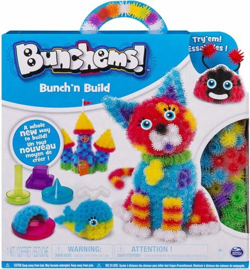 Boîte de jeu Bunchems Bunch'n Build, par Spin Master.