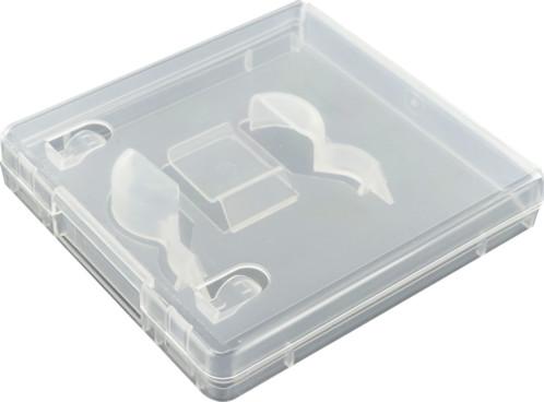 Boitier transparent Easypack avec jaquette pour clé USB.