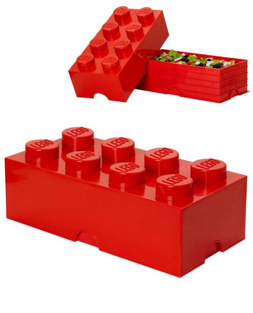 Brique De Rangement Lego Grand Modele 8 Plots 12 L 3 Couleurs Pearl Fr