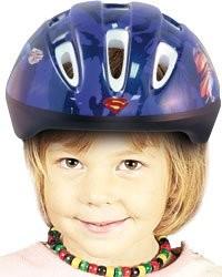 Casque de vélo pour enfant ''Superman''