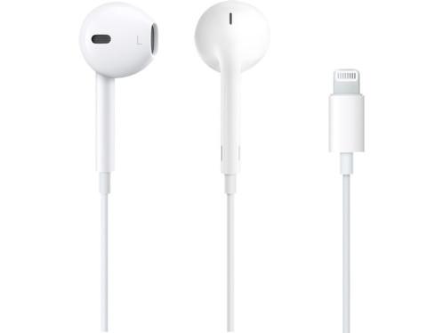 ecouteurs blancs officiels apple earpods avec connecteur lightning