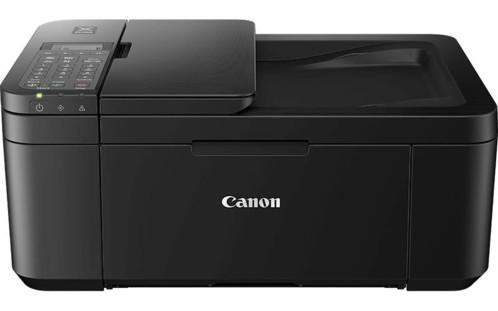 imprimante jet d'encre multifonction avec scanner hd et cartouches xl canon tr4550 noir