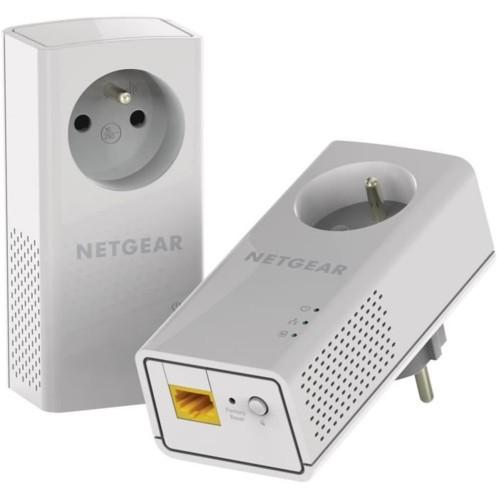 Kit CPL 1000MPBS Netgear PL1000 avec prise courant intégrée.
