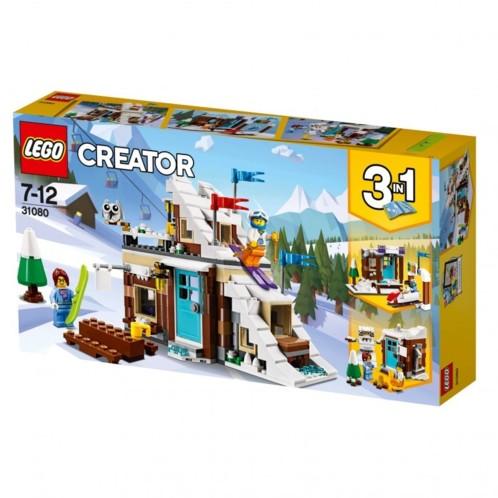 Packaging LEGO Creator Le chalet de montage 31080.