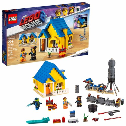 LEGO Movie 2 : La maison-fusée d'Emmet 70831