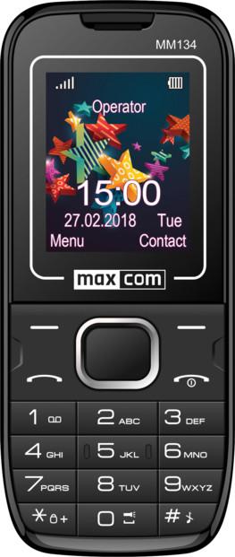 mini téléphone portable gsm bibande ecran couleur maxcom mm134 telephone senior avec appareil photo