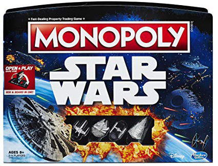 """Monopoly """"Open & Play"""" édition Star Wars"""