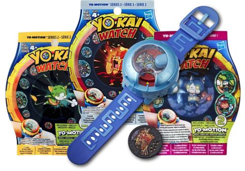 Montre à double projection Yo-Kai Watch Modèle U + 6 Médailles