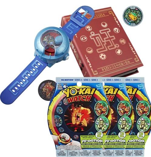 Montre à double projection Yo-Kai Watch Modèle U + Medallium + 6 Médailles