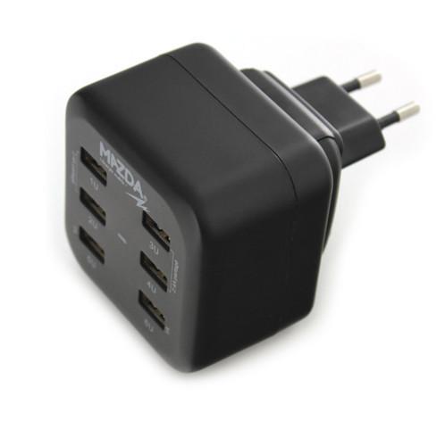 Multi-chargeur secteur avec 6 ports USB