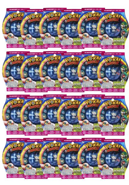 """Pack de 24 sachets de 2 médailles Yo-Kai Watch """"Yo-Motion"""" Saison 2"""