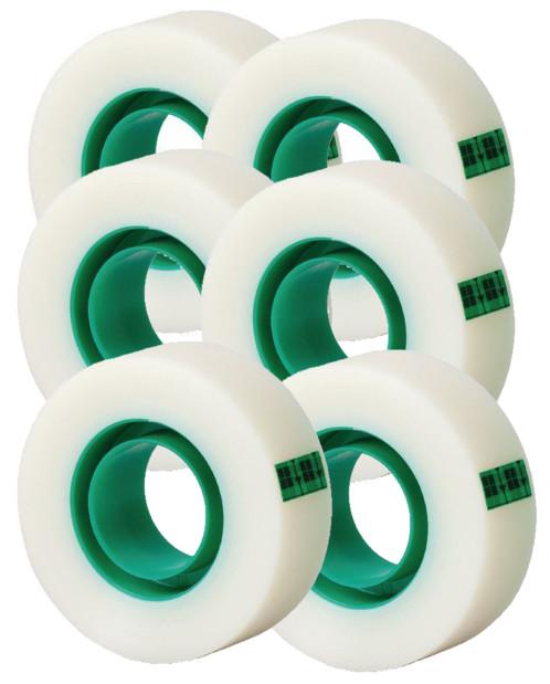 pack de 6 rouleaux d'adhésifs scotch magic tape opaque