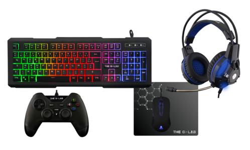 Pack pour PC Gaming G Lab Combo Palladium avec Souris