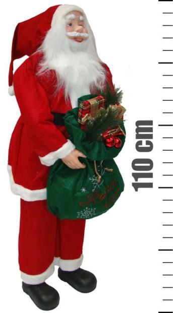Père Noël format XXL - 110 cm