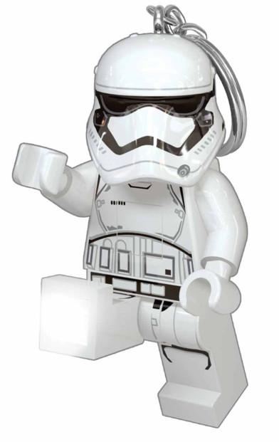 Porte-clés avec Lampe LED Lego Star Wars - Stormtrooper