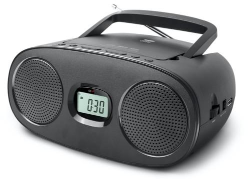mini radio fm avec lecteur cd usb mp3 jack aux in new one rd312