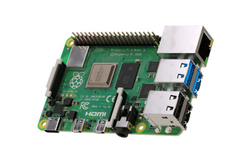 Raspberry Pi 4 - type B (ARM Cortex-A72, 4 Go RAM)